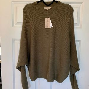 NWT Philosophy sweater in olive green